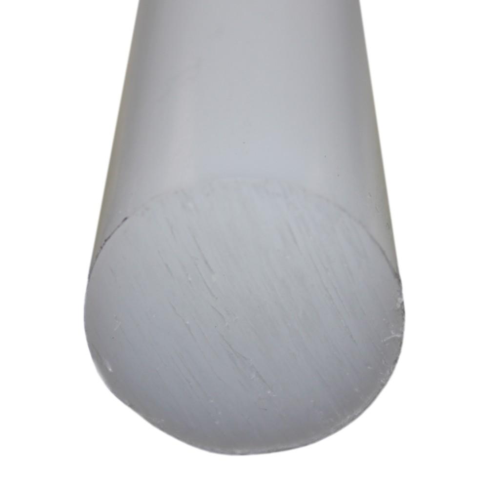Tarugo Polipropileno Natural 25mm x 1000mm