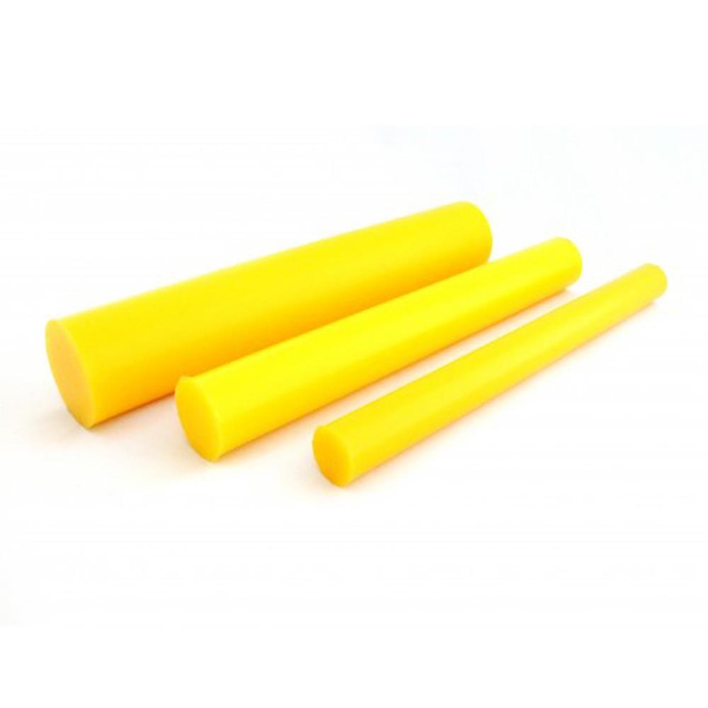 Tarugo Poliuretano Amarelo 60SH A 190x300mm