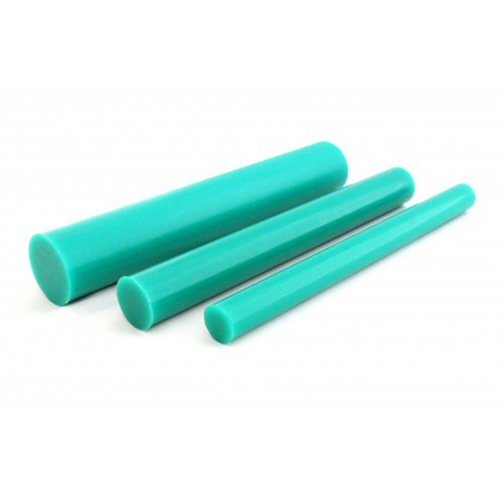 Tarugo Poliuretano Verde 80/85 SH A 100x300mm