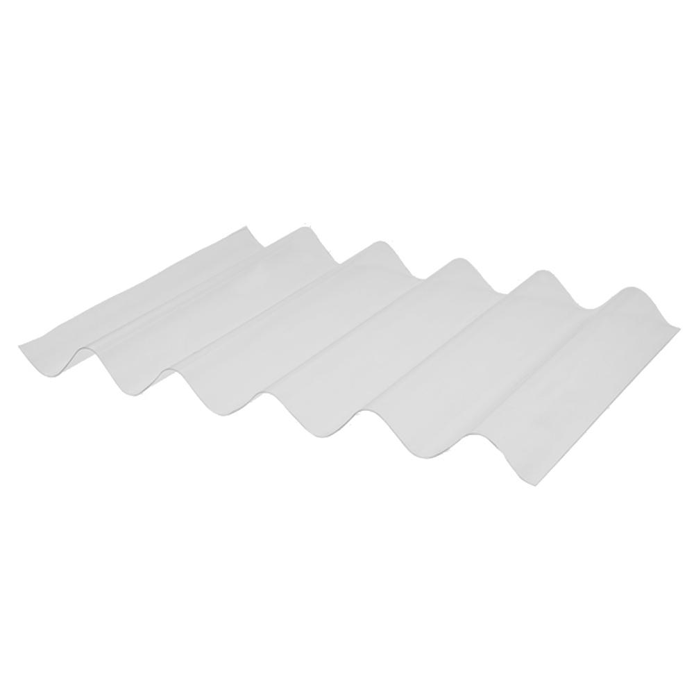 Telha ondulada branca 0,8mmx1260mmx6000mm