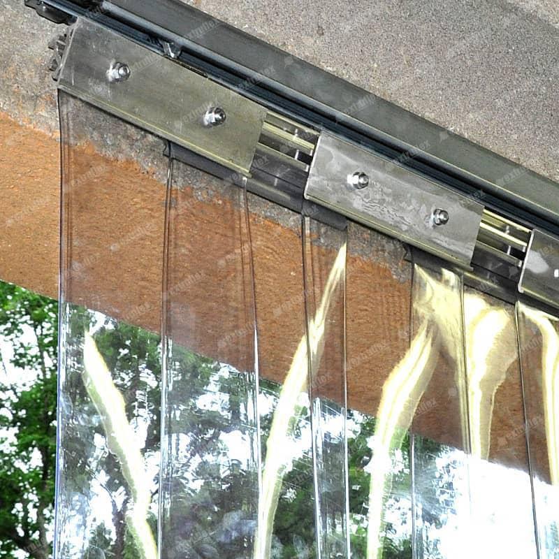 Trilho Metálico 1 metro (984mm) aço inox 201