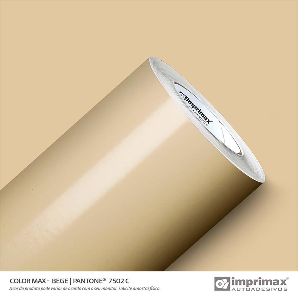 Vinil Auto Adesivo Color Max Bege Brilho 1,22x50m