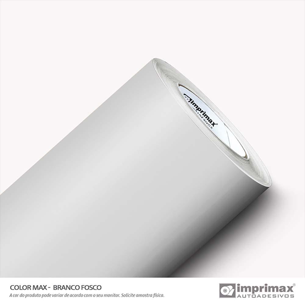 Vinil Auto Adesivo Color Max Branco Fosco 1,22x50m
