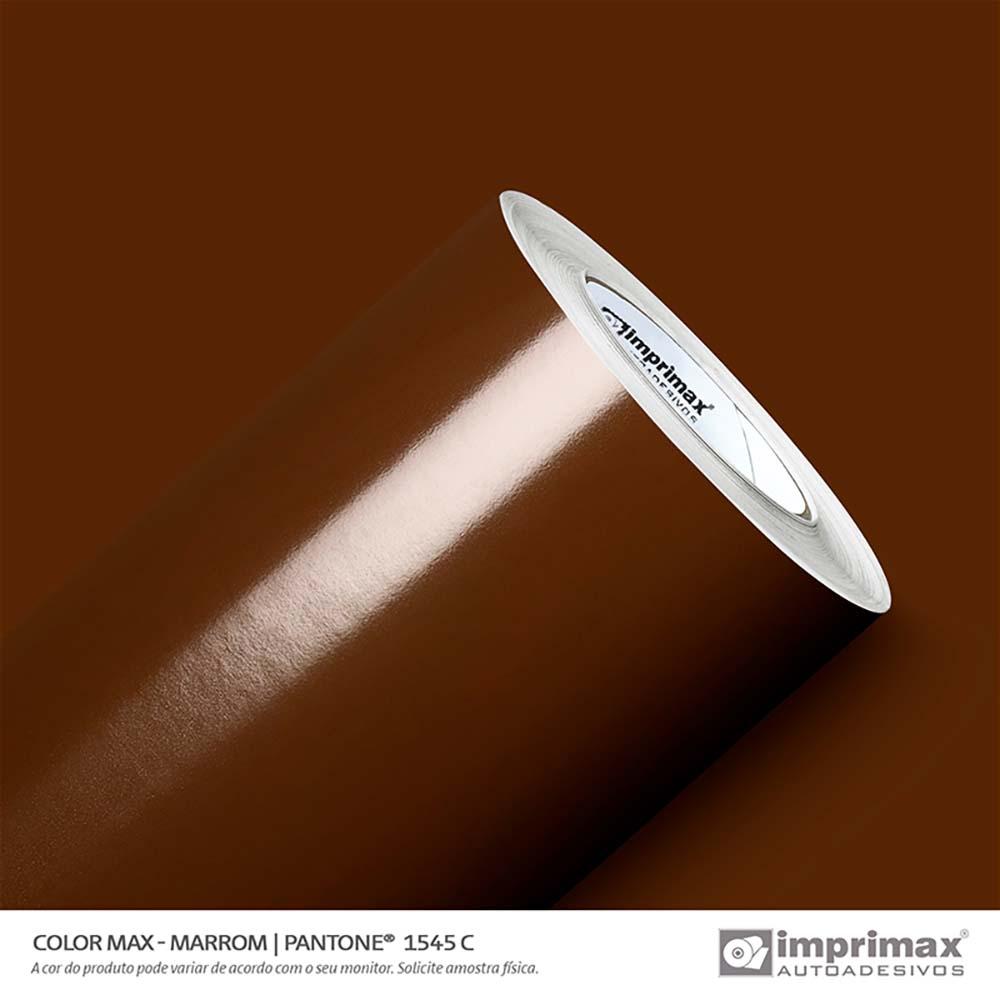 Vinil Auto Adesivo Color Max Marrom Brilho 1,22x50m