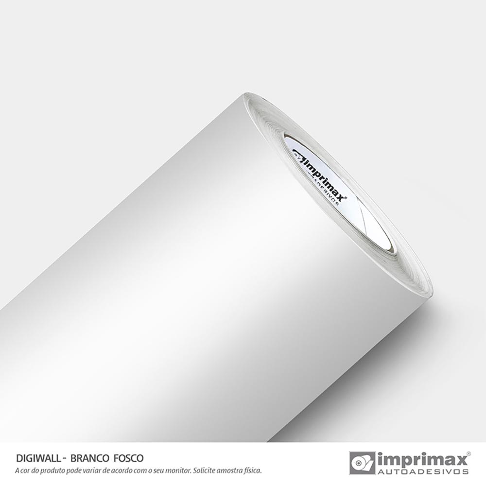 Vinil Auto Adesivo Digimax RBT Branco 0,10 Fosco 1,00x50m