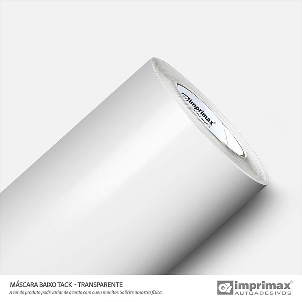 Vinil Auto Adesivo Mascára Baixo Tack Transparente 1,00mtx50mts