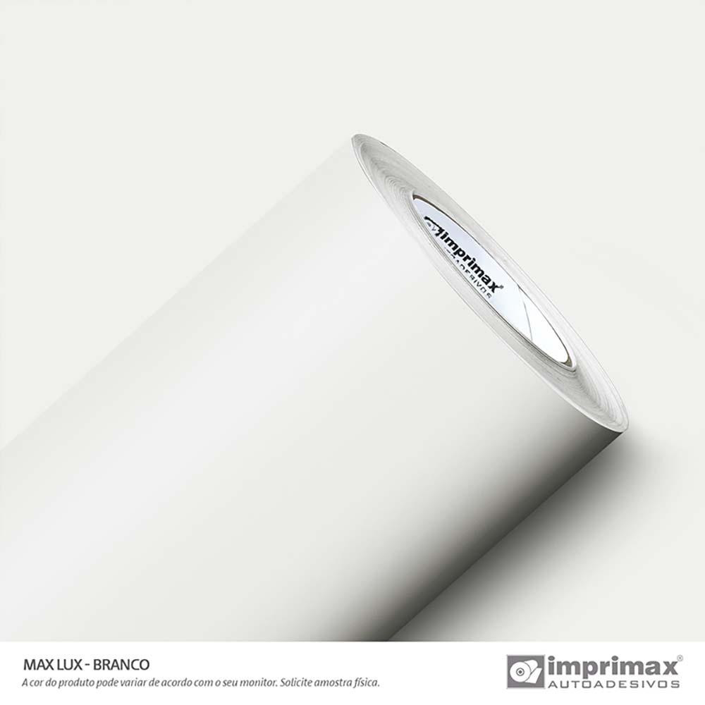 Vinil Auto Adesivo Max Lux Branco 1,22x50m