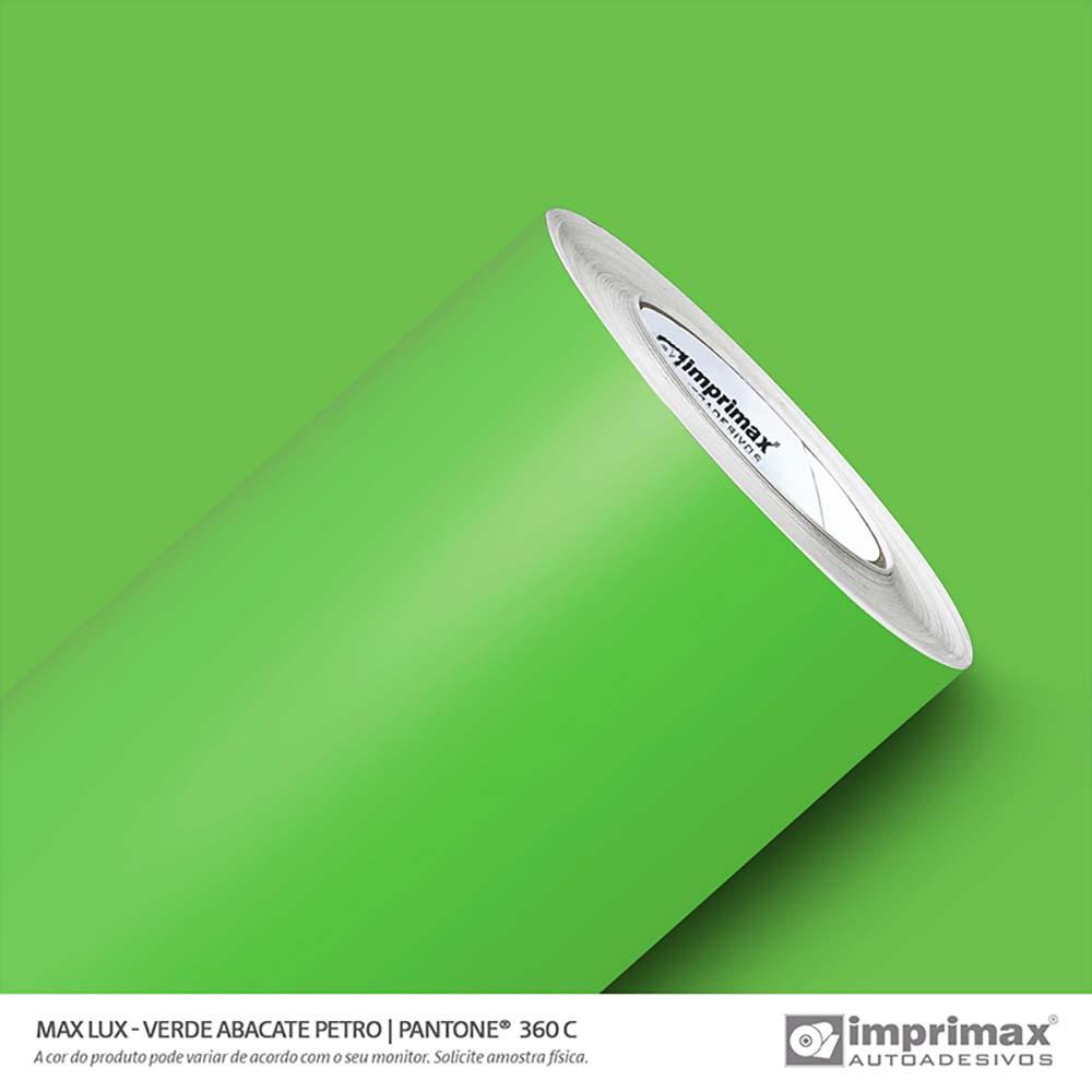 Vinil Auto Adesivo Max Lux Verde Abacate Petro 1,22x50m