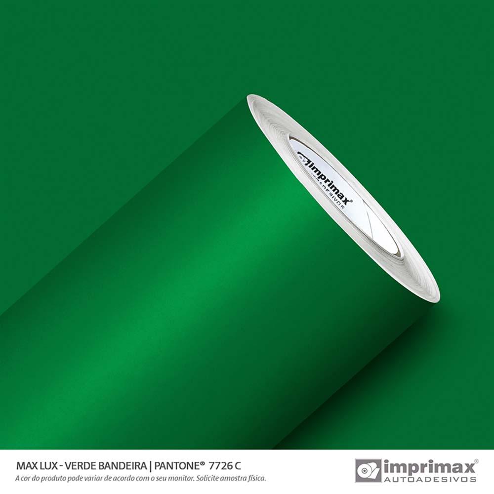 Vinil Auto Adesivo Max Lux Verde Bandeira 1,22x50m