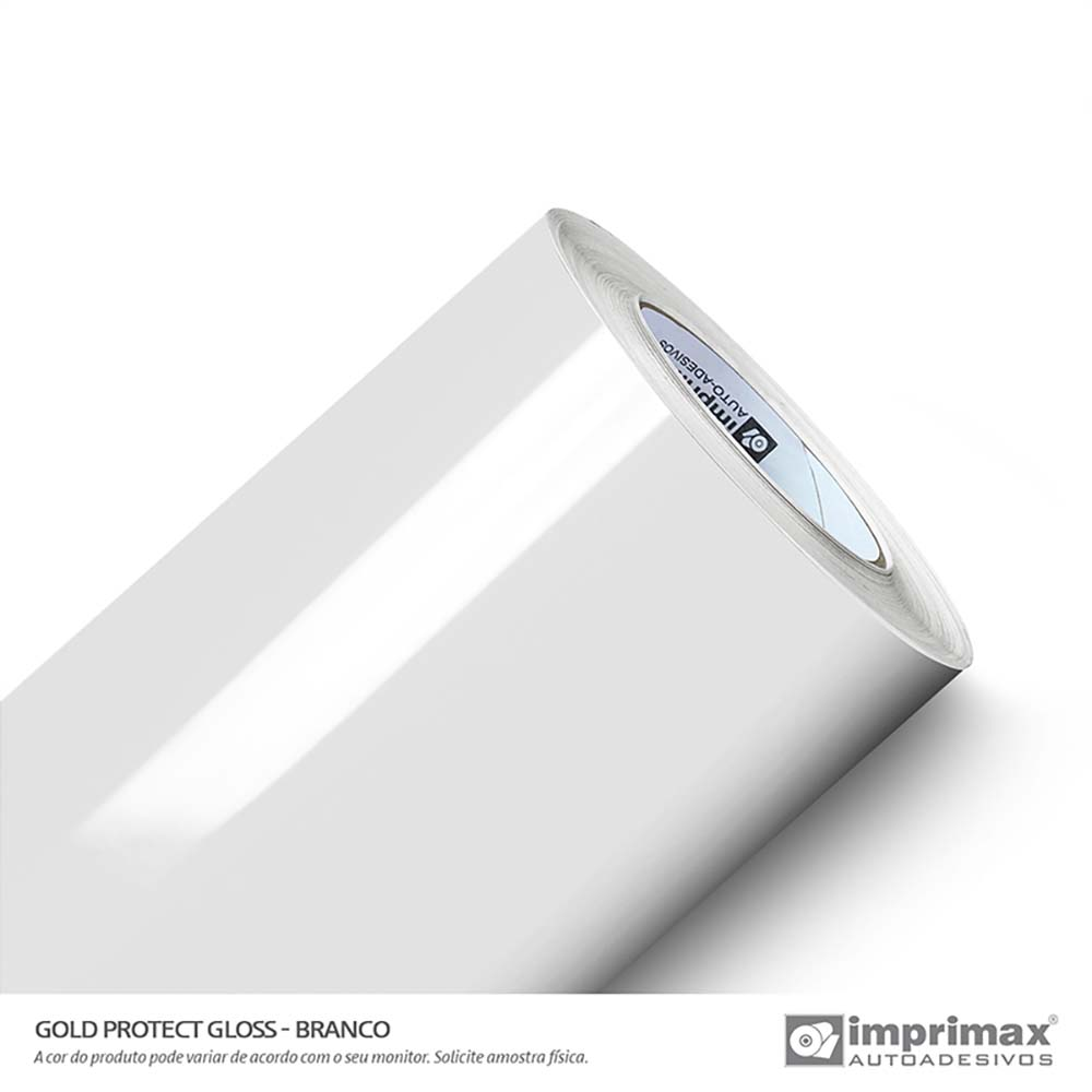 Vinil Auto Adesivo Protect Gloss Branco Off 1,40x25m