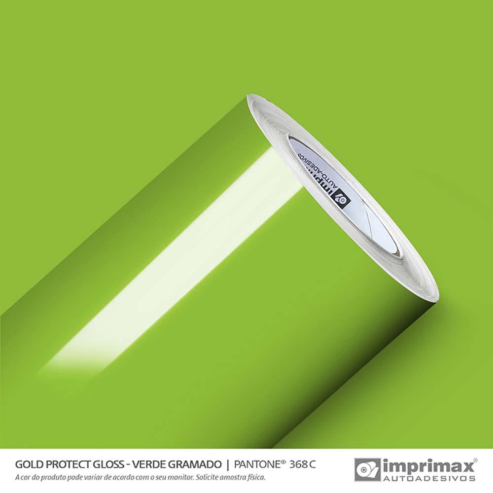 Vinil Auto Adesivo Protect Gloss Verde Gramado 1,40x25m