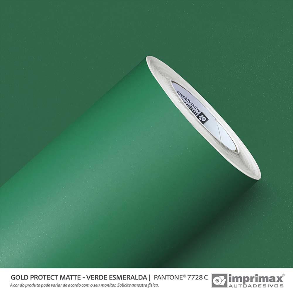 Vinil Auto Adesivo Protect Matte Verde Esmeralda 1,40x25m