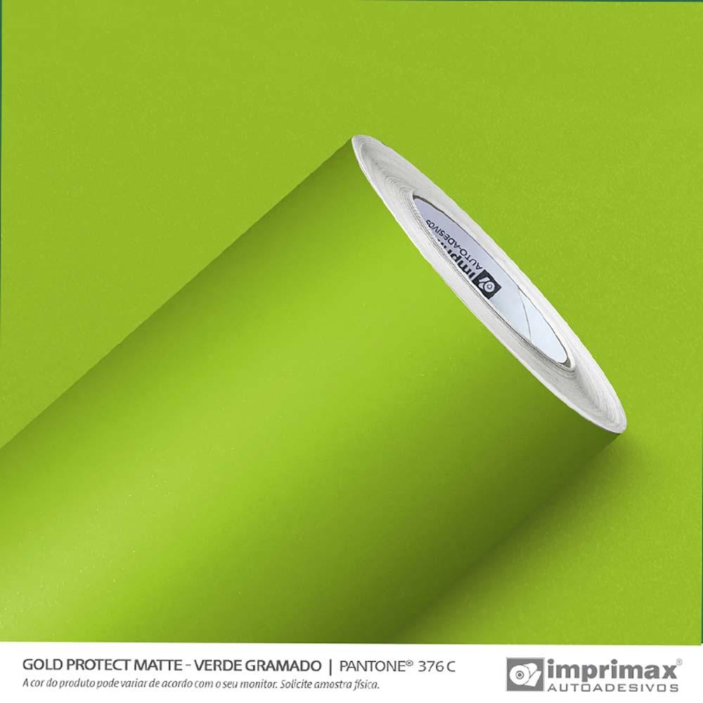 Vinil Auto Adesivo Protect Matte Verde Gramado 1,40x25m