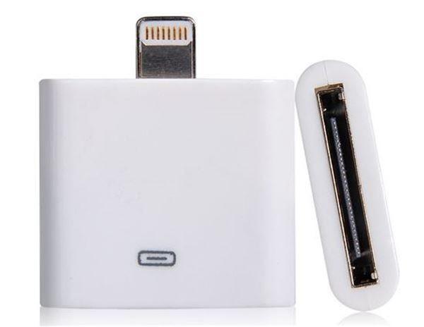 Adaptador Apple Lightning 30 Pinos Iphone 4 Fêmea para 5 e 6 Macho