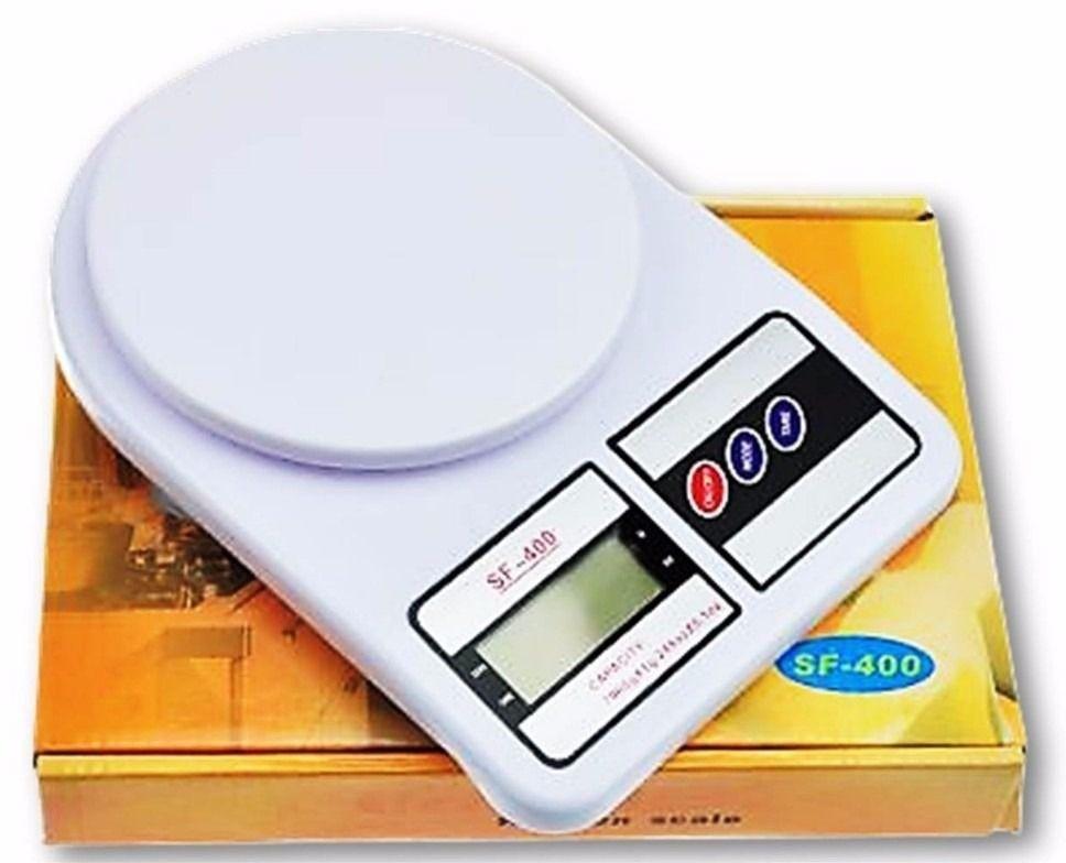 Balança Digital de cozinha SF-400 de Alta Precisão 1g até 10 kg