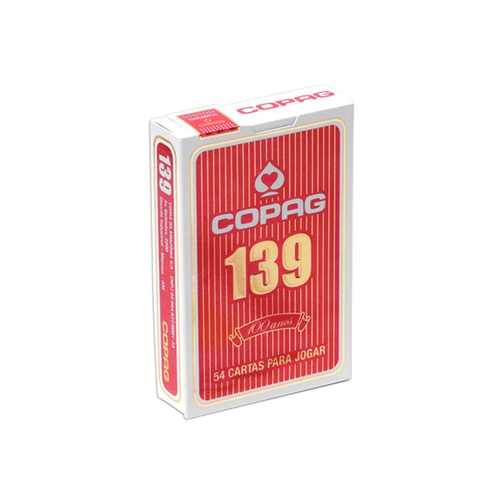 Baralho COPAG 139 Azul ou Vermelho
