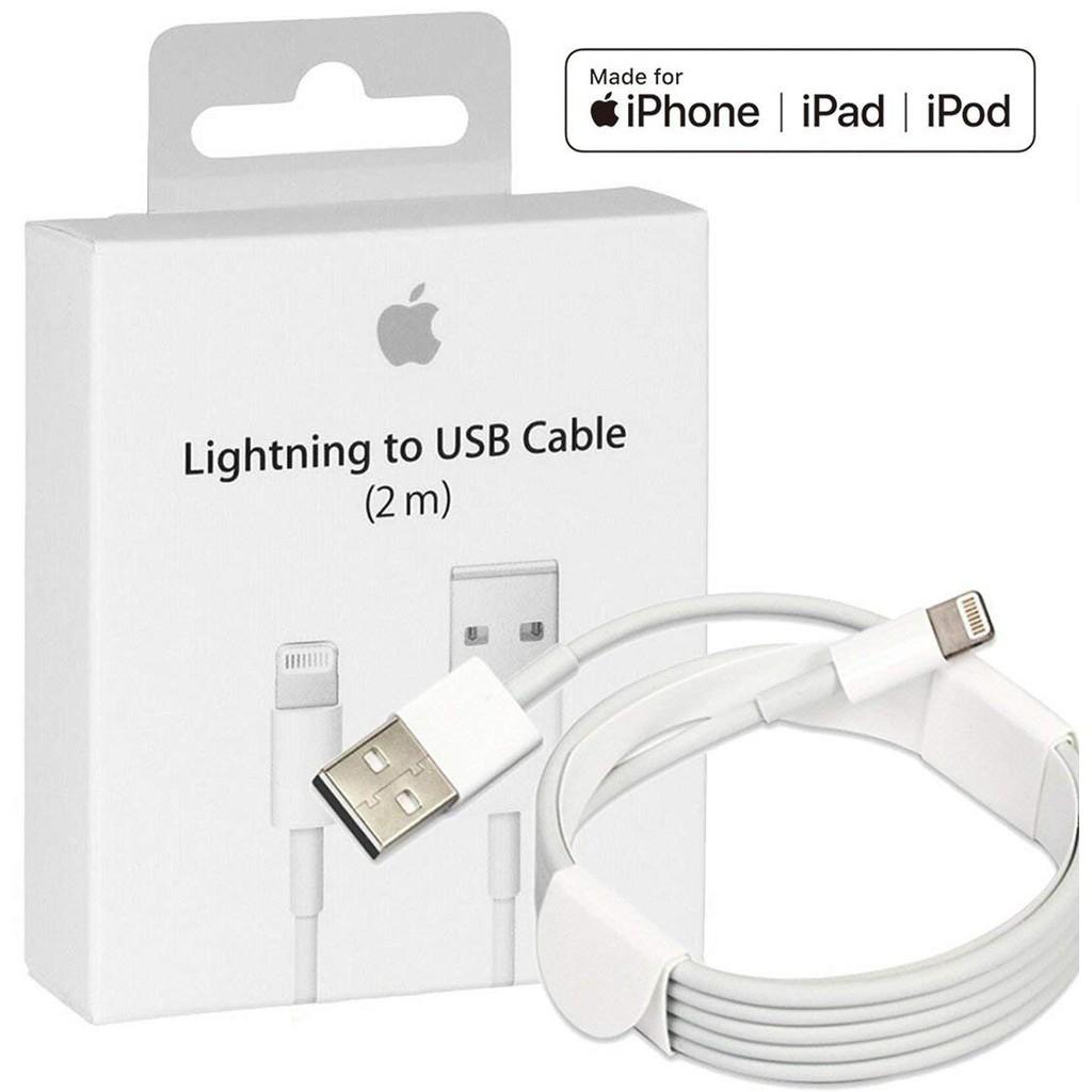 Cabo Lightning to USB 2 Metros pra Iphone 5, 6, 7, 8, X, 11 e 12