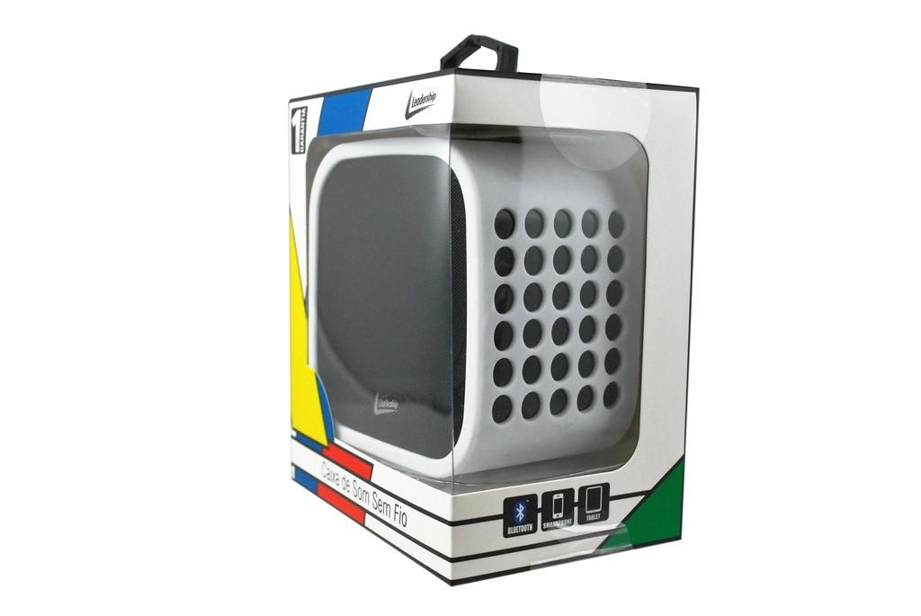 Caixa de Som Bluetooth 10W RMS, c/ Microfone Integrado p/ Realizar Chamadas, Bateria Recarregável, Entrada Auxiliar P2,