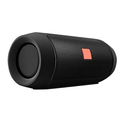 Caixa de Som Portátil Charge 2+ Bluetooth 3.0 Pega cartão Micro USB e Possui Entrada Auxiliar- Preto