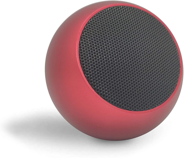 Caixinha de Som M3 Bluetooth Portátil Mini Speaker Tws 3W - Vermelho