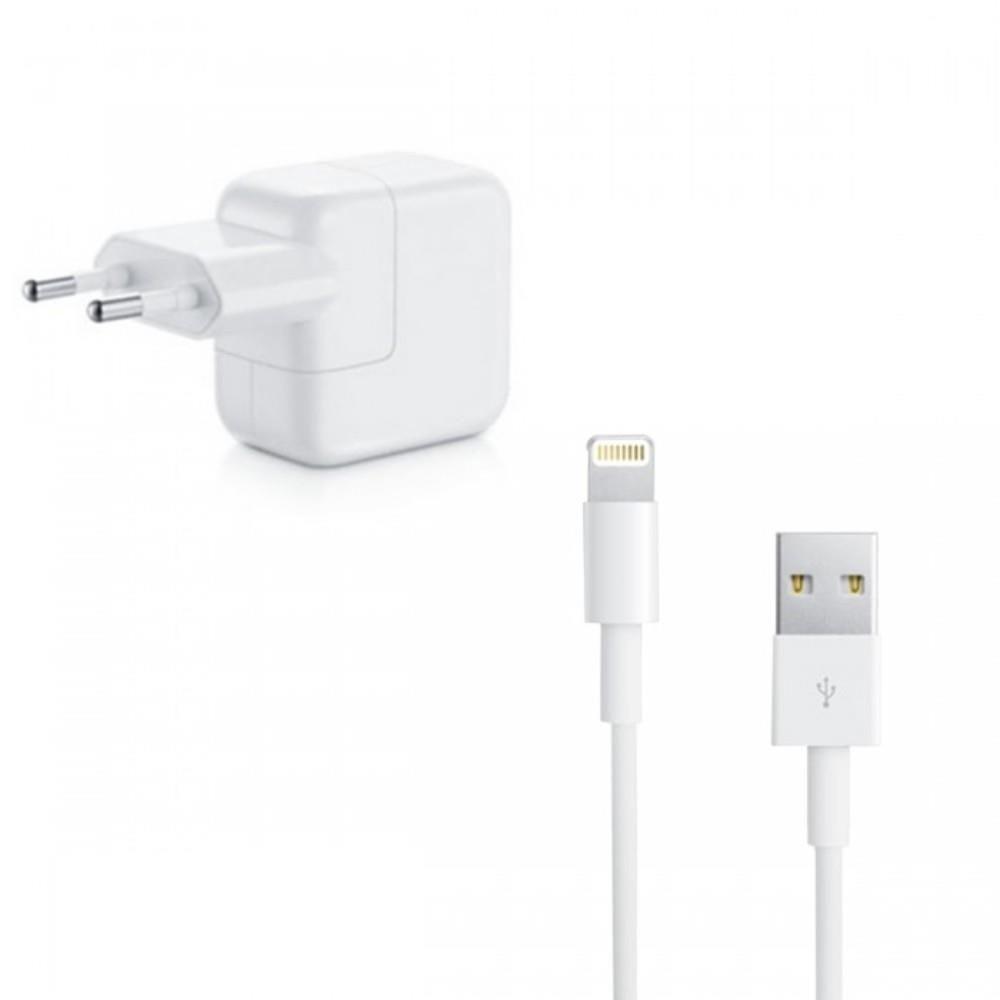 Carregador 10W e Cabo Usb Lightning Compatível Para Iphone 5, 5S, 5C, 6, 6s, 6 Plus e ipod