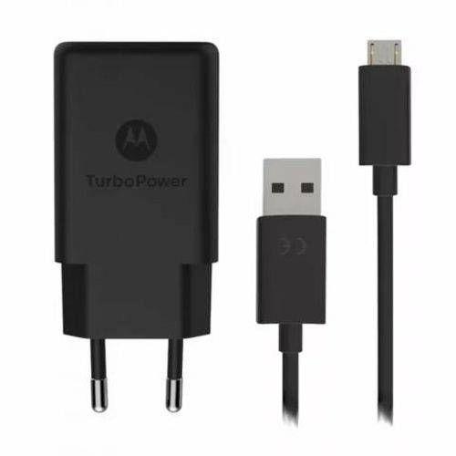 Carregador Motorola Turbo Power Micro USB + Garantia + NF