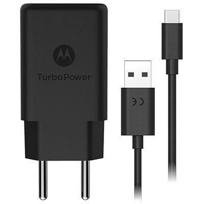 Carregador Motorola Turbo Power Tipo-C + Nota Fiscal