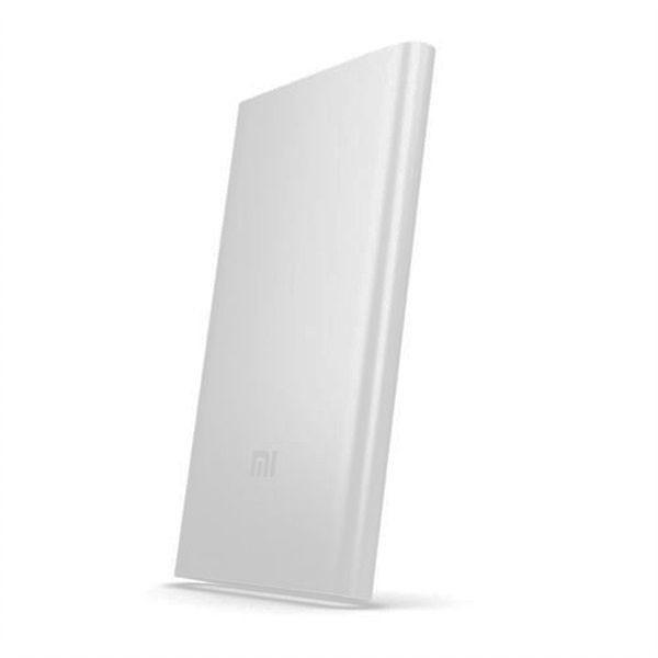 Carregador Portátil Xiaomi PLM10ZM 5000mah Mi Power Bank 2 (Até 2 cargas) - Prata