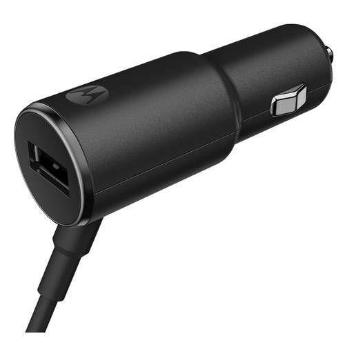 Carregador Veicular Motorola TurboPower 25W 2 Saídas USB 2.0