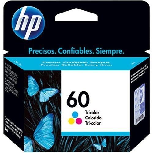 Cartucho de Tinta HP 60 Color CC643WB