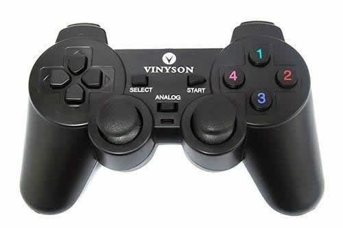Controle Analógico Para Playstation 2 Ps2 Vinyson Com Fio