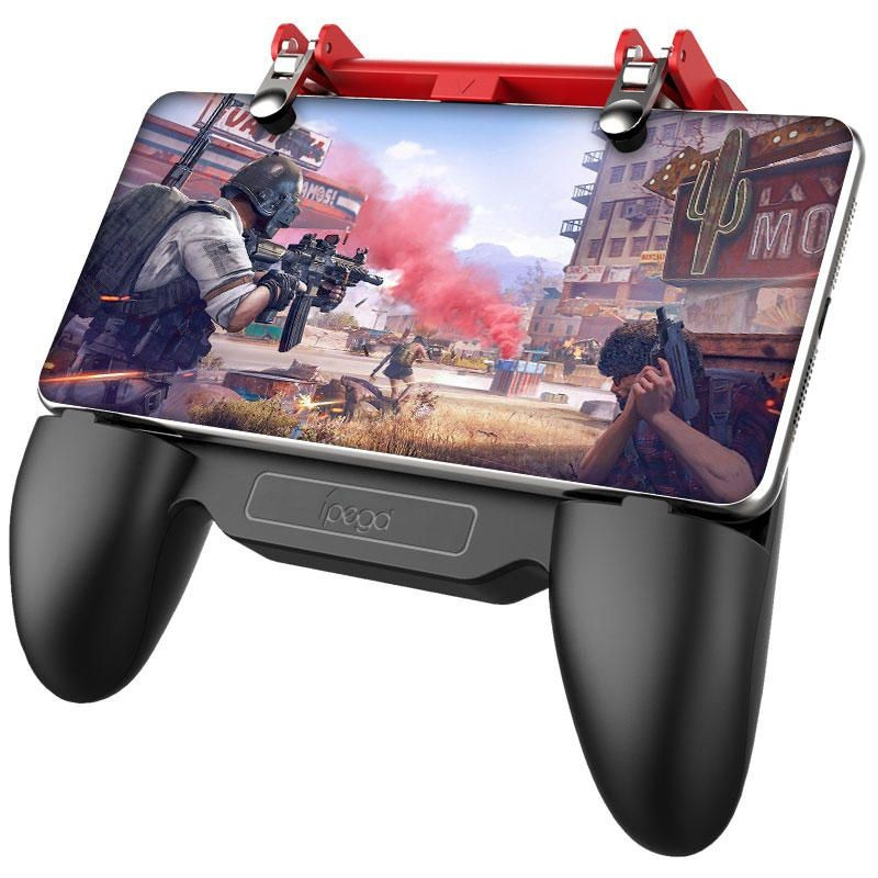 Controle Gamepad ípega PG-9123 Manete Cooling Fan Joystick Multifuncional Power Bank Game Grip