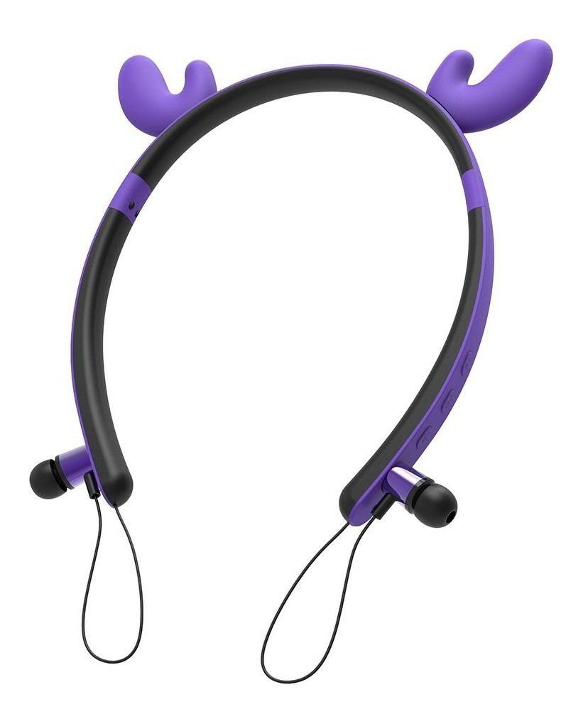 Fone de ouvido Bluetooth Personalizado com Orelhinhas de Animal - ZW-29A DEER EAR