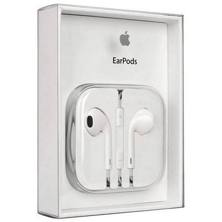 Fone de Ouvido Apple EarPods P2 3,5 mm para iPhone 4, 5 e 6 - com Microfone