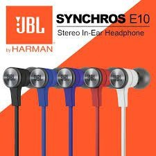 Fone de Ouvido IN-EAR JBL E10 Synchros by HARMAN Preto
