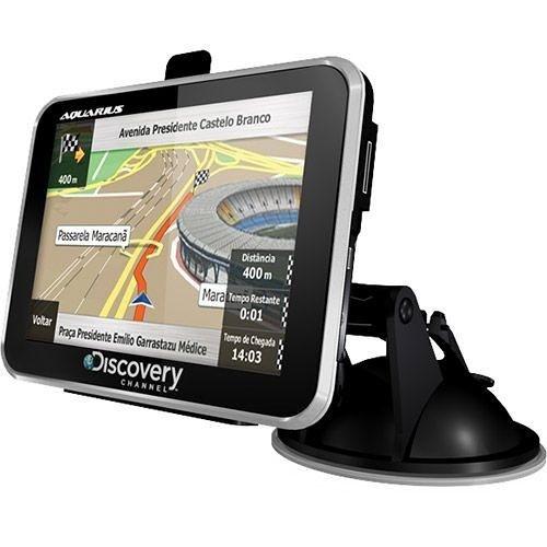 GPS Automotivo Discovery CHANNEL 3,5 Ultra Slim Hard - Aquarius