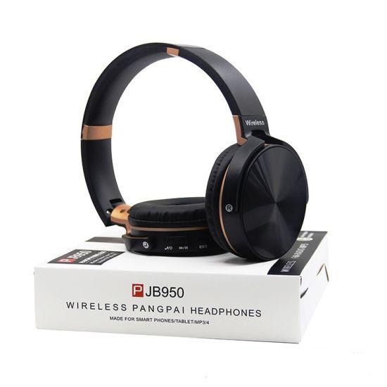 Headphone Bluetooth PANGPAI JB950 Universal para Android e IOS - Wireless FM e MP3
