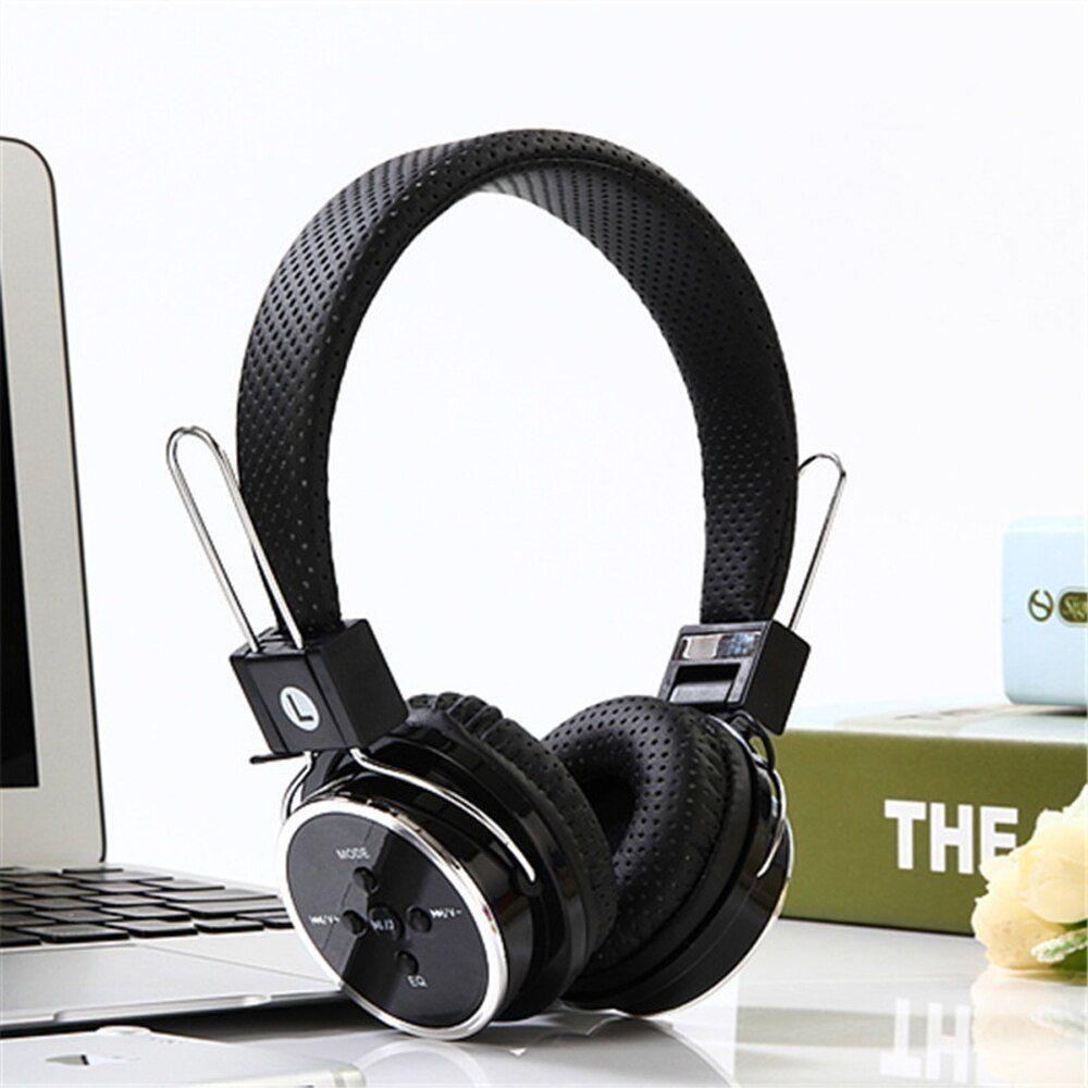 Headphone ST5 Fone De Ouvido Wireless Bluetooth Cartão SD/FM