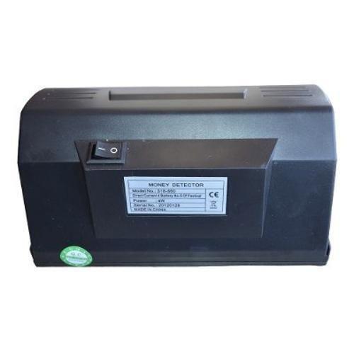 Identificador Detector de Nota Falsa, Cheque, SELO MONEY - Bivolt