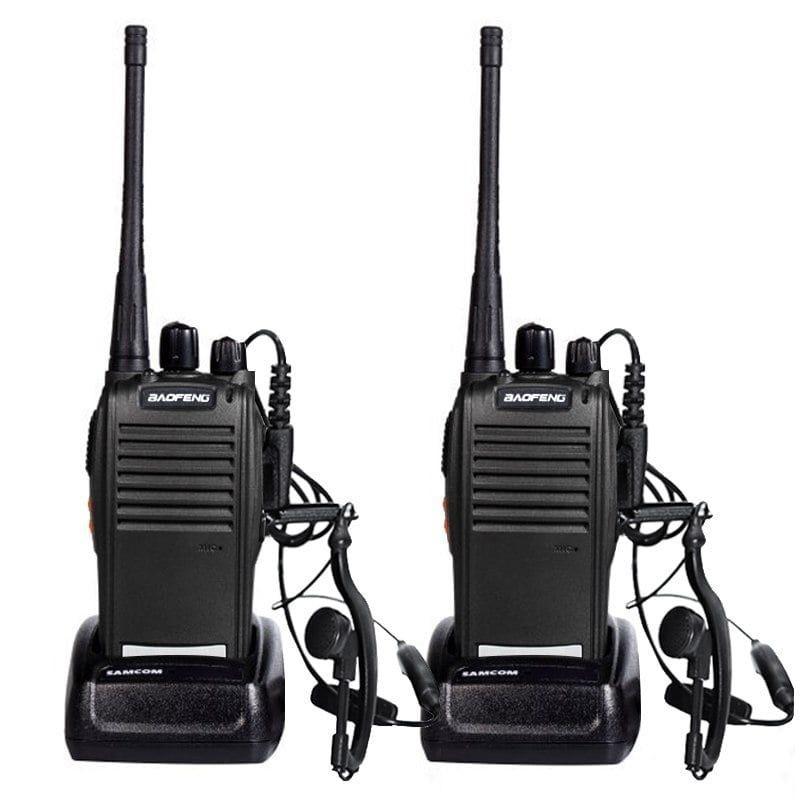 kit 2 PÇS Radio Comunicador Baofeng BF-777S 16 Canais Walkie Talkie 12KM de Alcance