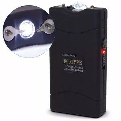 Lanterna tática de choque 50.000kv taser DZ 800 type + coldre