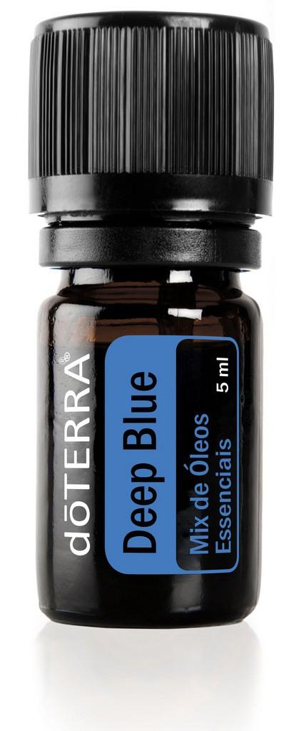 Mix de Óleos Essenciais d?TERRA Deep Blue® - Artrite, Cãibra, Fibromialgia, Espasmos, tendinite, Distenção e Dor muscula