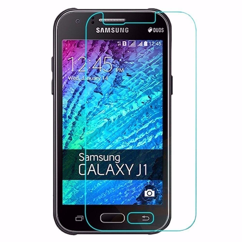 Película de Vidro Temperado para Smartphone Samsung Galaxy J1