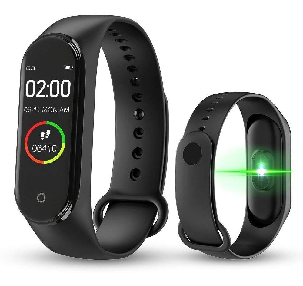 Pulseira SmartBand Inteligente M4 Smartwatch Relógio Bluetooth Resistente a água