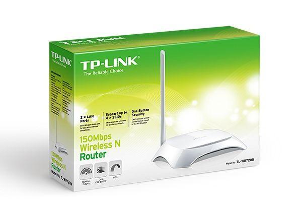 Roteador Wireless TP-LINK 150 Mbps TL-WR720N com Antena de 5dBi