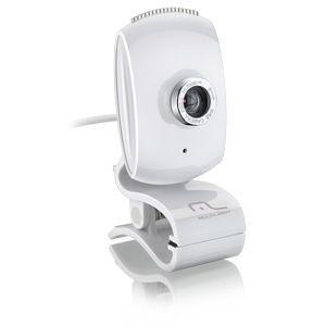 WebCam Multilaser FaceLook 16 MP Plug & Play White - WC047