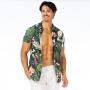 Camisa de Botão Adulto Elementos da Bahia