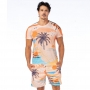 Camiseta Básica Adulto Tropical Paradise