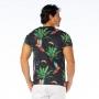 Camiseta Básica Adulto Tucano em Fundo Preto
