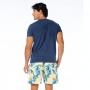 Camiseta de Algodão Estonada Arara Azul